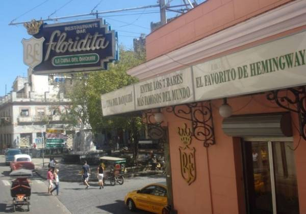 Bar El Floridita, the one that Ernest Hemingway choosed for his daikiris